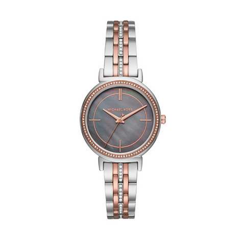 Cinthia Pavé Bracelet Watch 33mm, ${color}