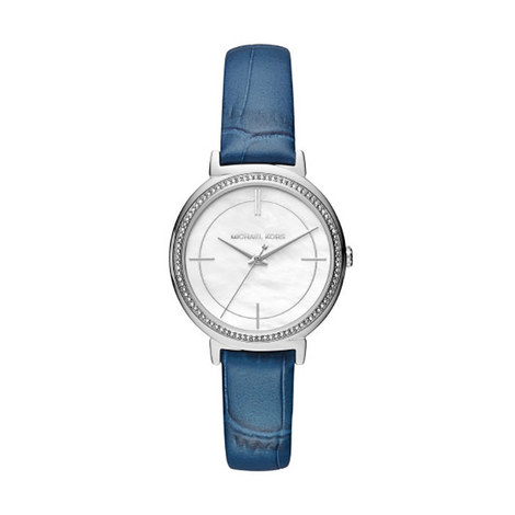 Cinthia Crystal Watch 33mm, ${color}