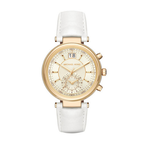 Sawyer Leather Strap Watch, ${color}