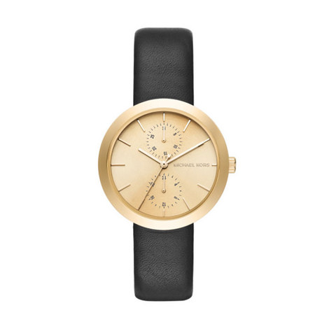 Garner Leather Watch, ${color}