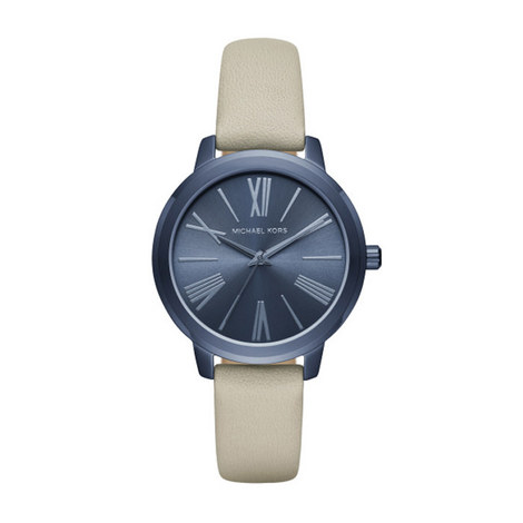Norie Leather Watch, ${color}
