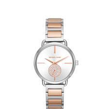 Portia Crystal Bracelet Watch