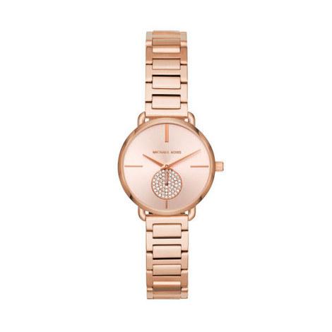 Mini Portia Embellished Watch, ${color}