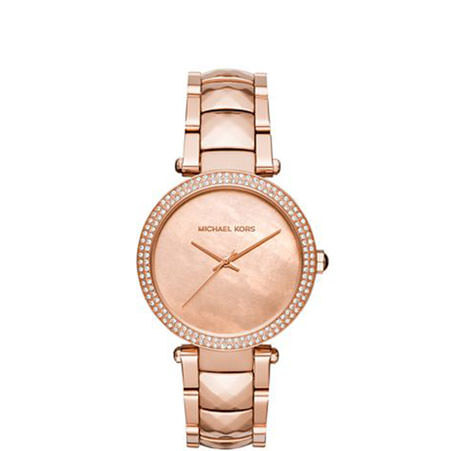 Parker Faceted Strap Watch, ${color}