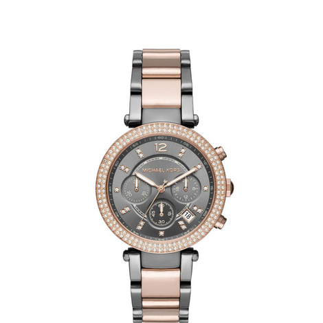 Parker Brushed Chronograph Watch, ${color}