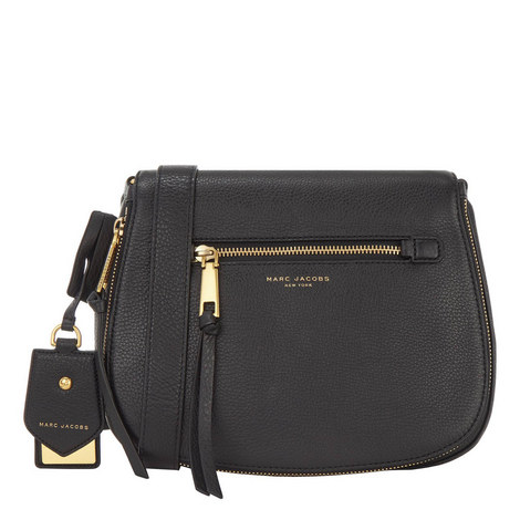 b4a507659f MARC JACOBS Recruit Saddle Bag Large