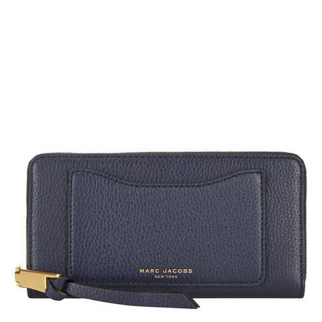 Standard Zip-Around Wallet, ${color}
