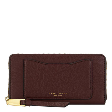Recruit Continental Zip Around Wallet , ${color}