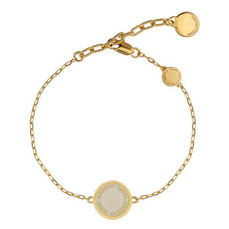 Logo Disc Bracelet, ${color}