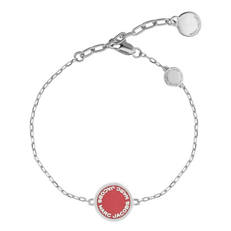 Logo Disc Bracelet, ${color}