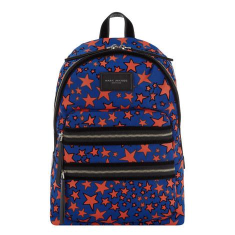 Flocked Star Backpack, ${color}