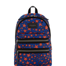 Flocked Star Backpack