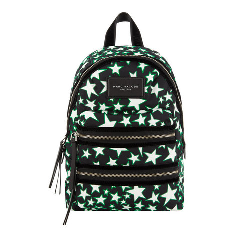 Flocked Star Backpack Small, ${color}