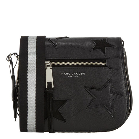 Star Patchwork Saddle Bag, ${color}
