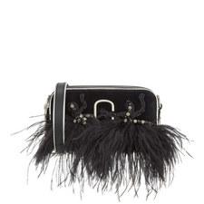 Snapshot Feather Velvet Camera Bag