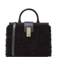 West End Shearling Shoulder Bag Small