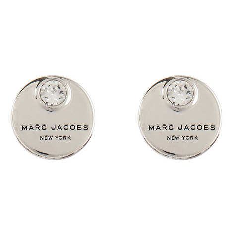 Coin Stud Earrings, ${color}
