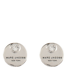 Coin Stud Earrings