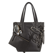 Wingman Gothic Leather Shopping Tote