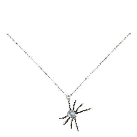 Spider Pendant Necklace, ${color}