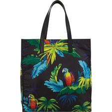 Parrot Print Shopper
