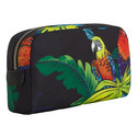 Parrot Canvas Cosmetic Bag Large, ${color}