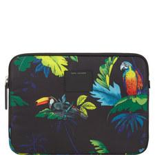 Parrot Print Laptop Case