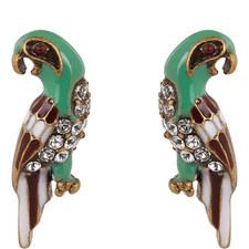 Parrot Stud Earrings