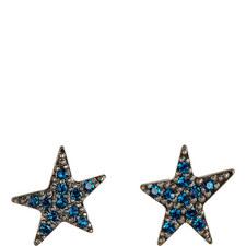 Pavé Star Stud Earrings