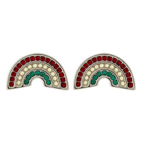 Rainbow Stud Earrings, ${color}