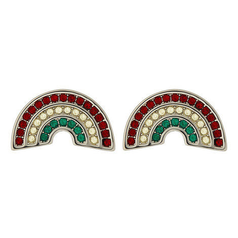 Rainbow Stud Earrings, ${color}