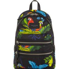 Parrot Print Backpack