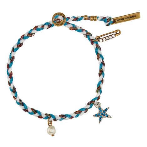 Star Macramé Bracelet, ${color}