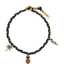 Pineapple Charm Friendship Bracelet
