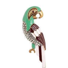 Parrot Brooch