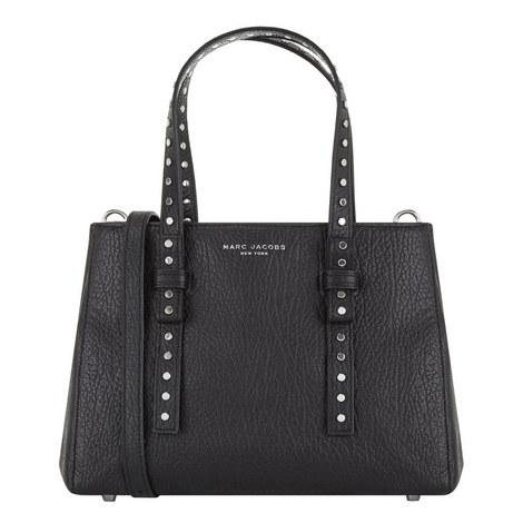 Mini T Studded Bag, ${color}
