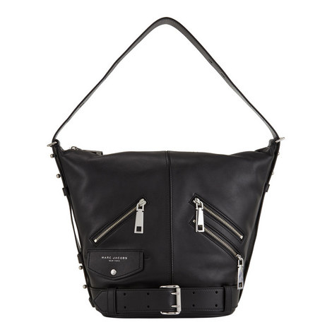 Sling Motorcycle Leather Bag, ${color}