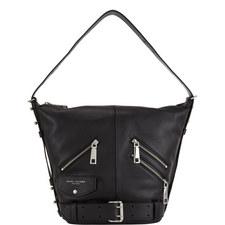 Sling Motorcycle Leather Bag