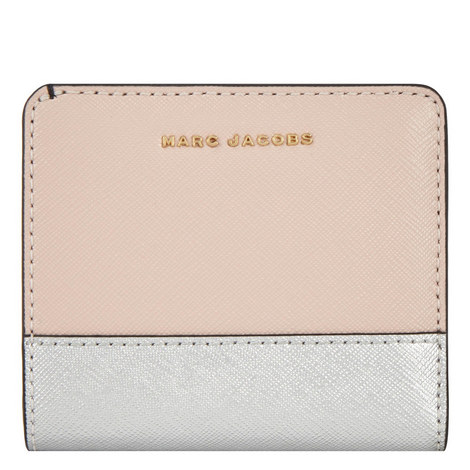 Colour Block Billfold Wallet, ${color}