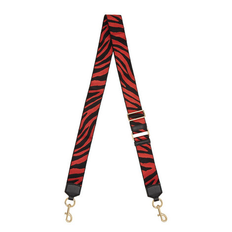 Zebra Pattern Bag Strap, ${color}