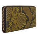 Crocodile and Snake Embossed Wallet , ${color}