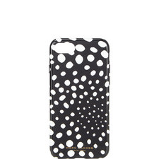 Wavy Spot Print iPhone 7 Case