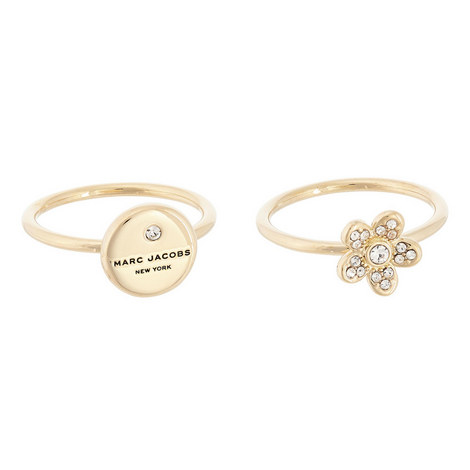 Floral Coin Rings, ${color}