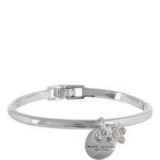 Coin Pendant Cuff Bracelet