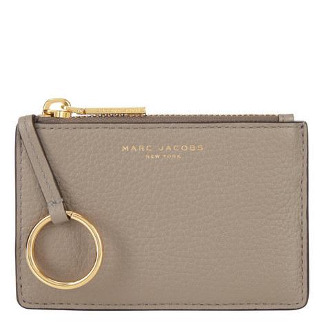 Top Zip Mini Wallet, ${color}