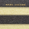 Glitter Stripe Continental Wallet, ${color}