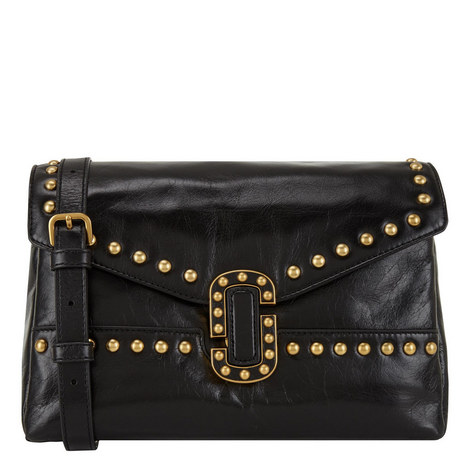 Studded Envelope Bag Small , ${color}
