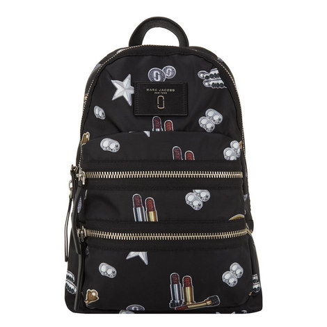 Tossed Charms Backpack, ${color}