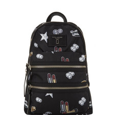 Tossed Charms Backpack