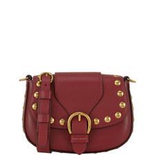 Studded Navigator Saddle Bag Small
